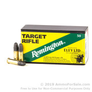 50 Rounds of 40gr LRN .22 LR Ammo by Remington