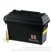 200 Rounds of 140gr BTHP 6.5 Creedmoor Ammo by Hornady in Field Box