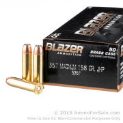 1000 Rounds of 158gr JHP .357 Mag Ammo by Blazer