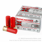 25 Rounds of  #3 Steel shot 12ga Ammo by Winchester Super-X XPERT