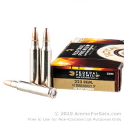 20 Rounds of 62gr SP .223 Ammo by Federal