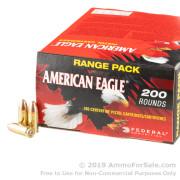 200 Rounds of 115gr FMJ 9mm Ammo by Federal