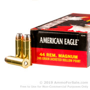 1000 Rounds of 240gr JHP .44 Mag Ammo by Federal