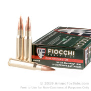 20 Rounds of 168gr HPBT .308 Win Ammo by Fiocchi Exacta Sierra MatchKing