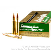 20 Rounds of 50gr Accutip .223 Ammo by Remington