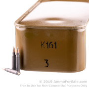 500 Rounds of 55gr FMJ .223 Ammo by Wolf in a Spam Can