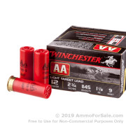 25 Rounds of 1 1/8 ounce #9 shot 12ga Ammo by Winchester