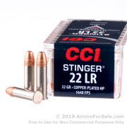 500 Rounds of 32gr CPHP .22 LR Ammo by CCI