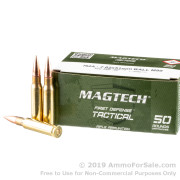 50 Rounds of 147gr FMJ 7.62x51mm Ammo by Magtech