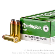 500  Rounds of 180gr JSP .44 Mag Ammo by Remington