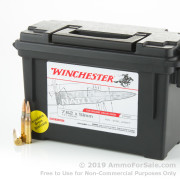 120 Rounds of 147gr FMJ 7.62x51mm NATO Ammo by Winchester