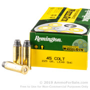 50 Rounds of 225gr LSWC .45 Long-Colt Ammo by Remington
