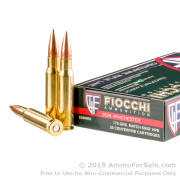 20 Rounds of 175gr MatchKing HPBT .308 Win Ammo by Fiocchi Exacta Match