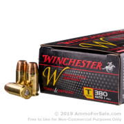50 Rounds of 95gr FMJ .380 ACP Ammo by Winchester