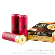 5 Rounds of  00 Buck 12ga Ammo by Federal LE Tactical
