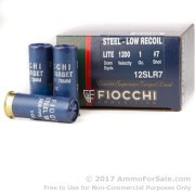 250 Rounds of 1 ounce #7 Shot (Steel) 12ga Ammo by Fiocchi