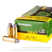 500 Rounds of 225gr LSWC .45 Long-Colt Ammo by Remington Target