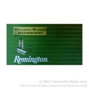 500 Rounds of 230gr JHP .45 ACP Ammo by Remington Golden Saber Bonded