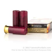 250 Rounds of  00 Buck 12ga Ammo by Federal LE Tactical with 8 Pellets