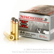 20 Rounds of 240gr HSP .44 Mag Ammo by Winchester