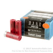 250 Rounds of 1 1/8 ounce #7 1/2 shot 12ga Ammo by Federal
