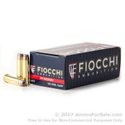 50 Rounds of 125gr SJHP .357 Mag Ammo by Fiocchi