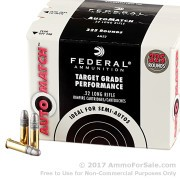 3250 Rounds of 40gr LRN .22 LR Ammo by Federal AutoMatch