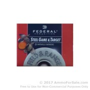 "25 Rounds of 3"" 3/8 oz. #6 shot .410 Ammo by Federal Steel Game & Target"