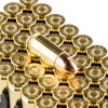 View of Magtech 9mm ammo rounds