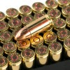 View of Israeli Military Industries 9mm ammo rounds