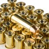 View of Winchester .38 Spl ammo rounds