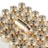 Close up of the 165gr on the 1000 Rounds of 165gr FMJ .40 S&W Ammo by Estate Cartridge