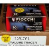 View of Fiocchi 12ga ammo rounds