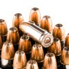 Close up of the 150gr on the 20 Rounds of 150gr JHP 9mm Ammo by Federal Premium Personal Defense