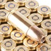 Close up of the 147gr on the 50 Rounds of 147gr JHP 9mm Ammo by Magtech