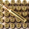 Close up of the 55gr on the 400 Rounds of 55gr MC .223 Ammo by Remington