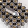 Close up of the 115gr on the 50 Rounds of 115gr FMJ 9mm Ammo by Tula