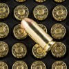 Close up of the 180gr on the 1000 Rounds of 180gr FMJ .40 S&W Ammo by Magtech