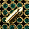 Close up of the 115gr on the 1000 Rounds of 115gr FMJ 9mm Ammo by Sellier & Bellot Police