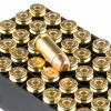 Close up of the 170gr on the 50 Rounds of 170gr FMJ .40 S&W Ammo by Fiocchi