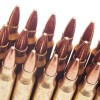 Close up of the 55gr on the 20 Rounds of 55gr FMJBT .223 Ammo by Federal