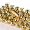 Close up of the 165gr on the 50 Rounds of 165gr FMJ .40 S&W Ammo by Federal