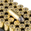 Close up of the 250gr on the 50 Rounds of 250gr LRN .45 Long-Colt Ammo by Remington