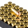 View of PMC .40 S&W ammo rounds