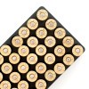 Close up of the 125gr on the 1000 Rounds of 125gr SJSP .38 Spl Ammo by BVAC