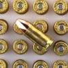 Close up of the 115gr on the 1000 Rounds of 115gr FMJ 9mm Ammo by Independence