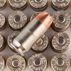 Close up of the 230gr on the 20 Rounds of 230gr JHP .45 ACP Ammo by Speer