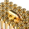Close up of the 115gr on the 50 Rounds of 115gr FMJ 9mm Ammo by Prvi Partizan