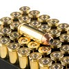 View of Remington .45 Long-Colt ammo rounds
