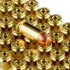 Close up of the 180gr on the 250 Rounds of 180gr FMJ .40 S&W Ammo by Blazer Brass
